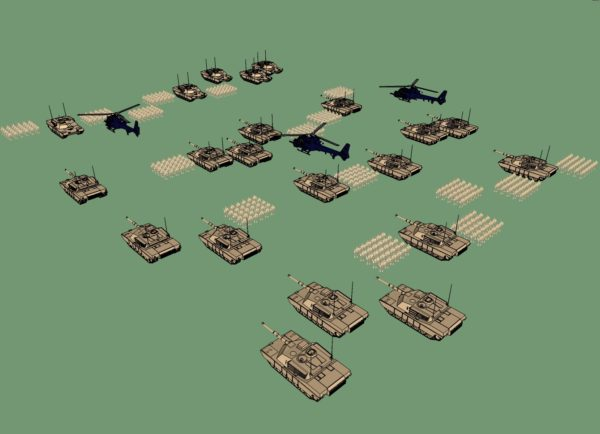 Turn-Based War Game Development Work
